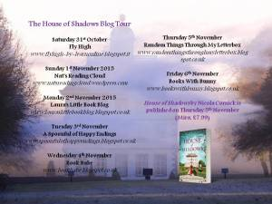 House of Shadows Blog Tour Banner