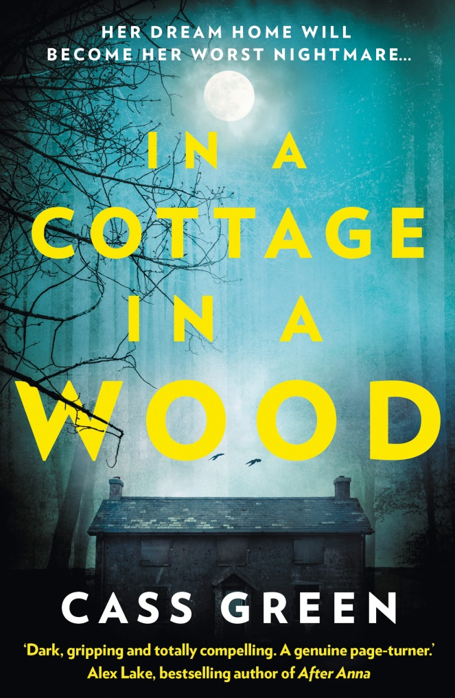 In a cottage in a wood cover
